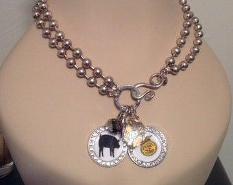 "Stockshow/FFA/Animal Charm 18"" Toggle Necklace"