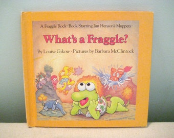 Vintage What's A Fraggle Book
