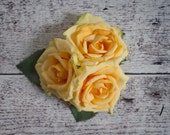 Yellow Rose Wedding Corsage