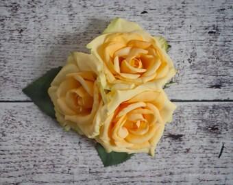 Yellow Rose Wedding Corsage