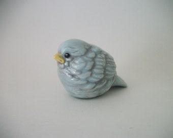 Handmade Vintage Ceramic Bluebird Home or Garden Decor, Rustic Wedding Decor, Wedding Table Decorations, Gift Ideas