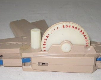 vintage Desk and Office Tool - Label maker by DYMO