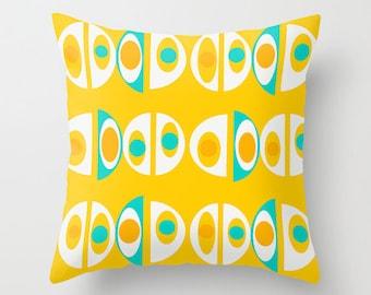 Cool Outdoor Pillow, Modern Outdoor Pillow, Retro Outdoor Pillow,  Outdoor Pillow,  Geometric Outdoor Pillow, Modern Outdoor Cushion
