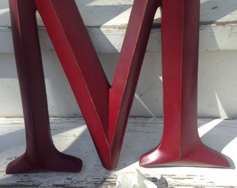Wall Decor, Large Letter, Shabby Chic Wall Decor - New Item - PiCK YoUR CoLOr and PIcK YOuR LeTTeR