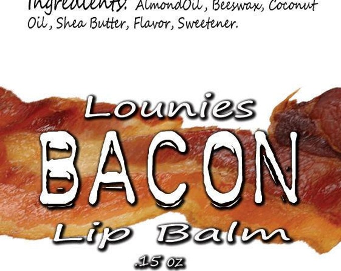 Featured listing image: Bacon Lip Balm | Flavored Lip Balm | Scented | Scented Lip Balm | Flavored Chapstick | Lip Balm | Chapstick | Chap Stick | Flavor | Meat