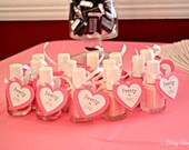 20 Layered Heart Tags for Gifts or Favors - Baby Showers or Other Special Event - Layered Hearts