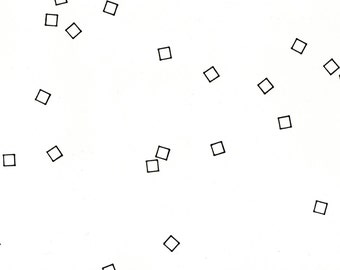 """Confetti 3, small, original, 10"""" x 6.5"""" drawing"""