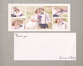 "Wedding Thank You Cards, Thank You Note Cards, Vintage cards, Thank you card - the ""Penelope 1"""