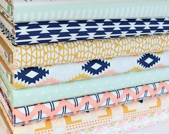 Arizona Bundle of 8 by April Rhodes from Art Gallery Fabrics, Quilting Weight Cotton Fabric