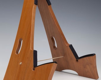 Cherry wood, Slay-Frame wooden guitar stand