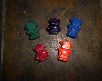 Robot Crayon Set of 6