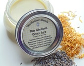 Kiss My Rash Good-bye ~ Organic Diaper Rash Balm ~ 8oz  Glass Mason Jar