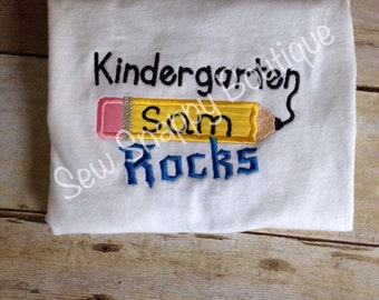 First Grade Rocks Shirt