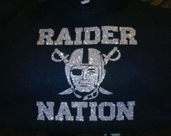 Raiders Glitter Sweater or Tee