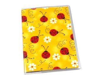 Passport Cover Ladybugs