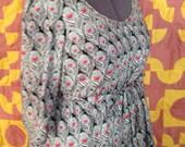 Liberty of London cotton lawn A-line dress PLUS SIZE