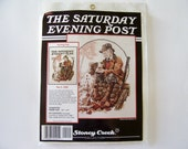 The Saturday Evening Post Counted Cross Stitch Kit - Hunting Pals (Nov. 3, 1928) - X Stitch Kit, Cross Stitch Pattern