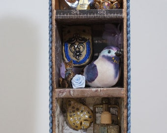 Shadow Box Wunderkammer Cabinet Of Curiosities REDUCED