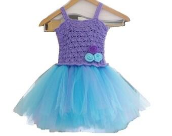 Crochet Baby Dress Pattern, Instructions , Crochet Tutu Dress Pattern, Newborn to 2 Years,  Crochet Easter Dress Pattern, Tutu Dress Pattern