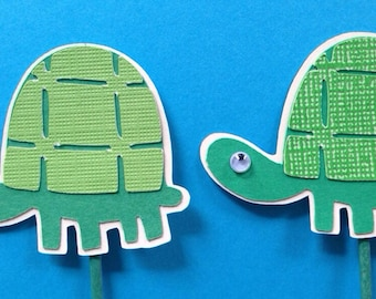 Turtle Cake Toppers