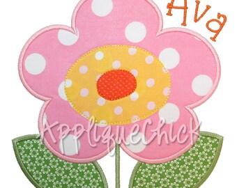 Flower Applique Design