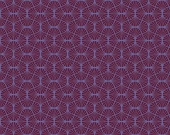 Empire Weave in Garnet  (JD54) - Joel Dewberry Fabric HEIRLOOM for Free Spirit - By the Yard