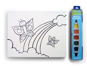 8x10 Large Butterfly DIY Watercolor Kit
