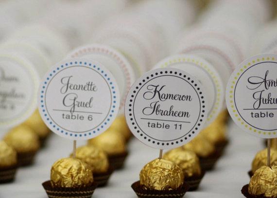 Items similar to Unique Wedding Reception Ferrero Rocher ...