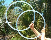 Minis Set: Deco Taped Poi Hula Hoops with Custom Tape, Tubing and Diameter!