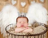 crown, newborn tiara, Baby headband, newborn headband, adult headband, child headband and photography prop royalty tiara