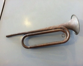 Early 1900s US Army Issue Bugle
