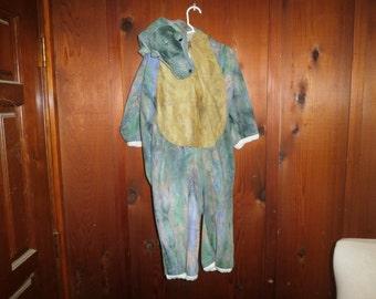 Halloween Costume, Alligato,r Green, size 12 months, circa 1995