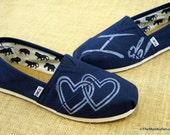 Wedding Custom TOMS Shoes