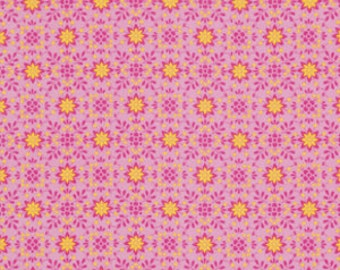 Dena Designs for Free Spirit - PRETTY LITTLE THINGS - Daisy in Pink - 1 Yard - Cotton Fabric