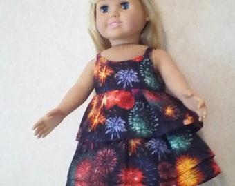 Sale American Girl Doll Top & Skirt