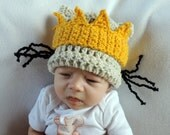Newborn Infant Max Halloween Beanie Hat - Made to Order Baby Accessories by Julian Bean