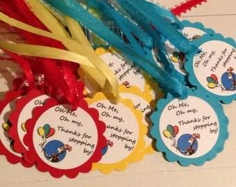24 Custom Dr. Seuss Tags