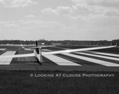 sailplane, airplane art photography, glider, aviation art, soaring, airplane wall decor, boys room, runway