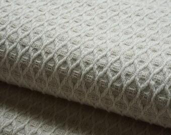 Natural organic linen cotton  fabric--Natural--Linen Bath