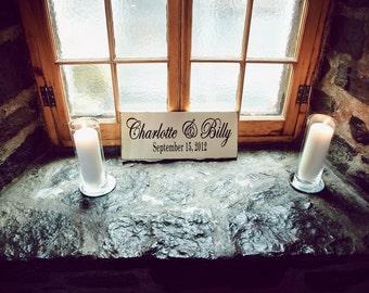 Custom Anniverary or Wedding sign by Dressingroom5