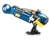 New LEGO Custom Blade Runner Police Spinner with Opening Doors - Complete Kit!