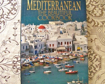 Vintage Mediterranean Cookbook The Beautiful Cookbook Joyce Goldstein Authentic Recipes Stunning Photography Spain Greece Italy 1994