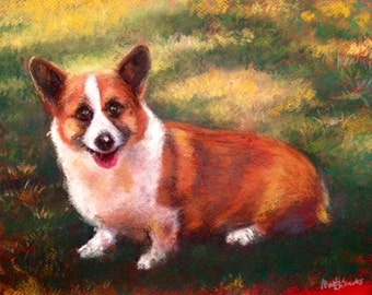 Pet Portraits in Pastel