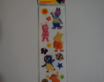 The Backyardigans 3D Stickers (Nickelodean Licensed)