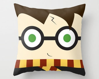 Wizard boy Pillow, plush decoration