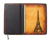 Moleskine Leather Notebook Cover [Large & Pocket Sizes][Customizable][Free Personalization] - Ouija