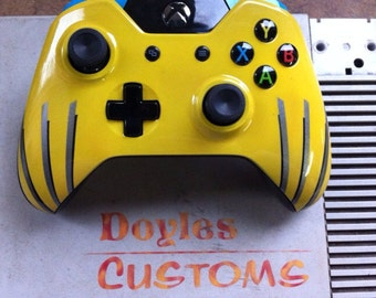 Wolverine themed xbox one controller
