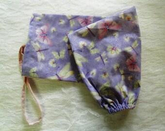 GROCERY BAG HOLDER Plastic Bag Dispenser  Butterflies Dragonflies Lightening Bugs