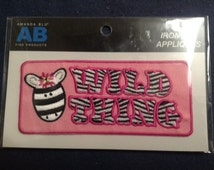 Wild Thing Iron-on Patch