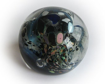 Intriguing Burst of Color Paperweight